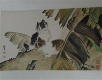 chinese painting by liu kuiling
