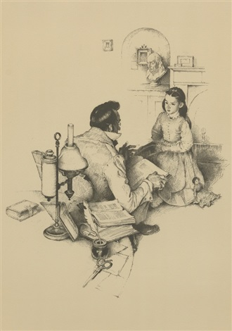 the teacher by norman rockwell