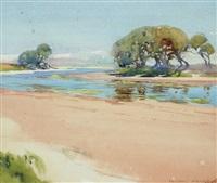 the inlet midday by harold brocklebank herbert