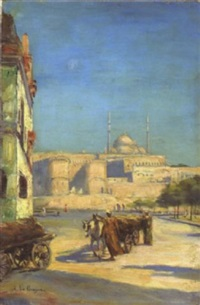 vue d'istanbul by fernand le quesne