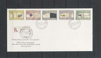 nadorp post (5 stamps on an envelope) by donald evans