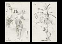 model mondrian (+ 2 others, various sizes; 3 works) by yoko yamamoto