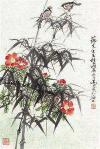 花鸟 by qiao mu