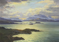 evening, sound of mull by george melvin rennie
