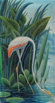 a flamingo by ondrej sekora