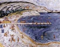 scènes de plage by n. jirnov