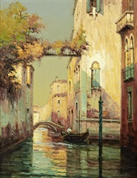 a venetian backwater by noel georges bouvard