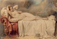 odalisque by edward henry corbould