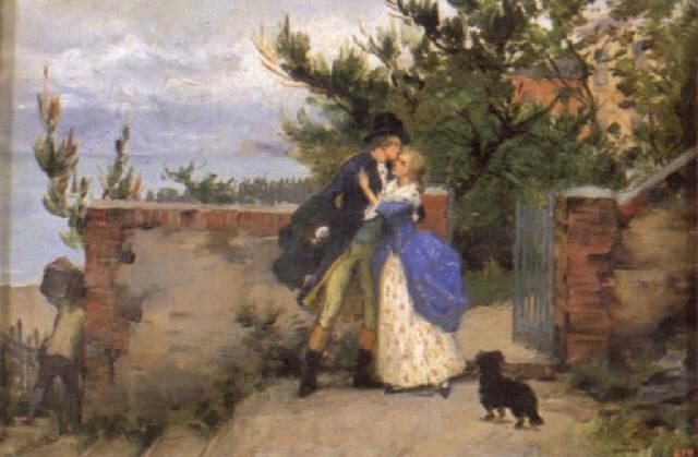 scène galante by pierre outin