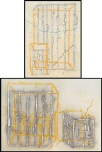 untitled no. 1 (+ untitled no. 2; 2 works) by craig kauffman