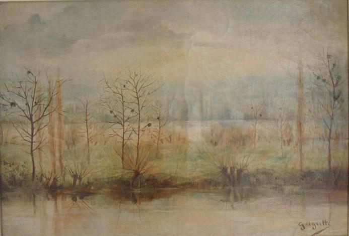 bord de rivière by georgette agutte