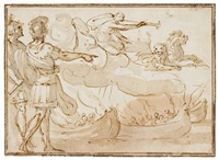 allegoria della guerra by francesco allegrini