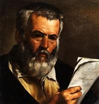 bildnis des philosophen anaximander by pietro bellotti