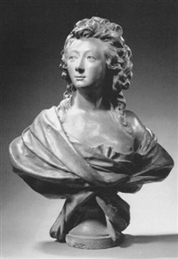 bust of a lady by nicolas coustou