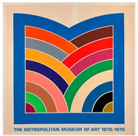 metropolitan museum of art 1870-1970 by frank stella