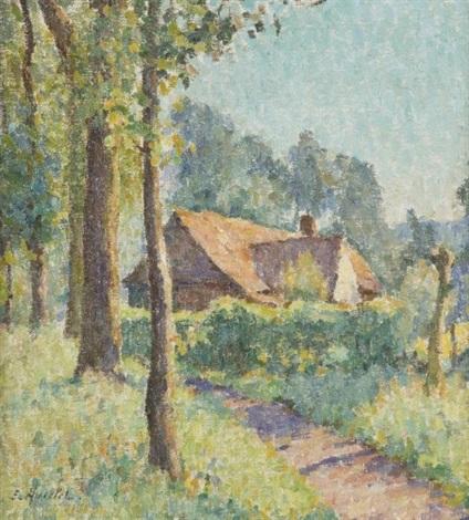 maison sous les arbres by emile ancelet