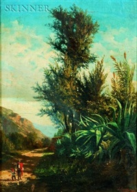 landscape (+ another; 2 works) by juan rabada y valloe