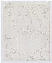 tres mujeres by manuel rodríguez lozano