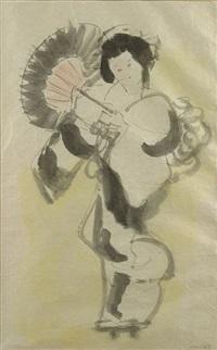 geisha by mané-katz