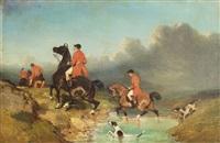 chasse à courre by pierre rousseau
