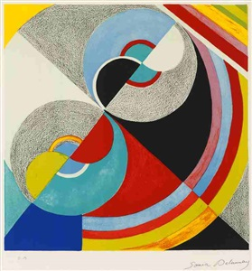 artwork by sonia delaunay-terk