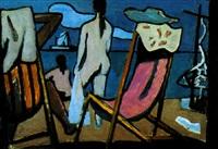 les filles à la plage... by roman selski