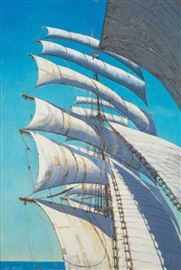 sails by claude muncaster