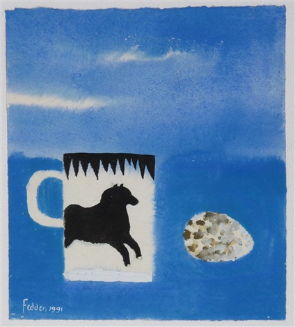 the horse mug by mary fedden