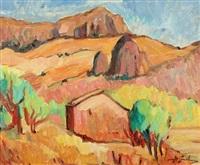 paysage de campagne by herbert gurschner