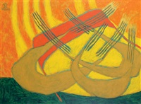abstract composition by nashar