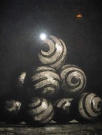 spiral balls by john gibson