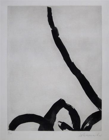 komposition 11/64 by emil schumacher