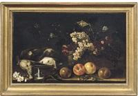 natura morta con cacciagione e frutta by aniello ascione