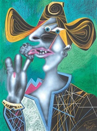 after picasso by mihail chemiakin