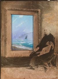 seascape by ivan konstantinovich aivazovsky