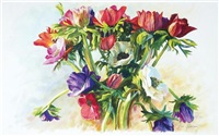 anemones by beni gassenbauer
