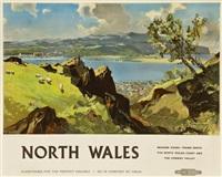 north wales, british railways by leslie arthur wilcox