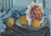 nature morte aux citrons by paul de laboulaye