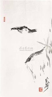双鱼图 by liu zhiyong