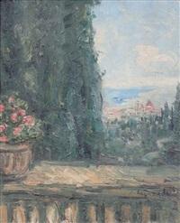 paysage de florence by pierre laprade