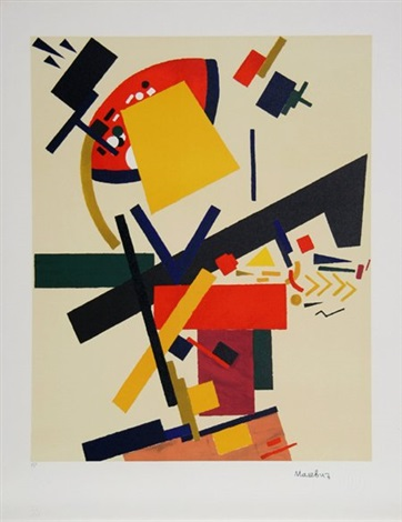 untitled suprematist composition by kazimir malevich