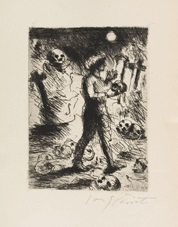 die nachtwachen des bonaventura (bk w/45 works) by lovis corinth