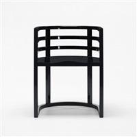 armchair (model 810a) by richard meier