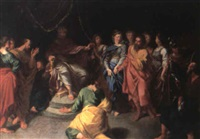 the continence of scipio by louis galloche