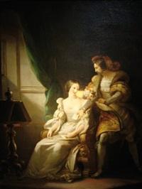 le billet doux by alexandre-évariste fragonard