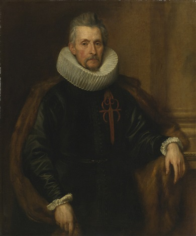 portrait of ferdinand de boischott baron zaventem by sir anthony van dyck
