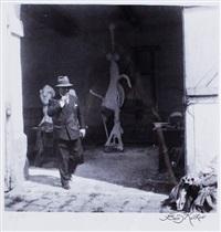 picasso sort de son atelier by boris kochno