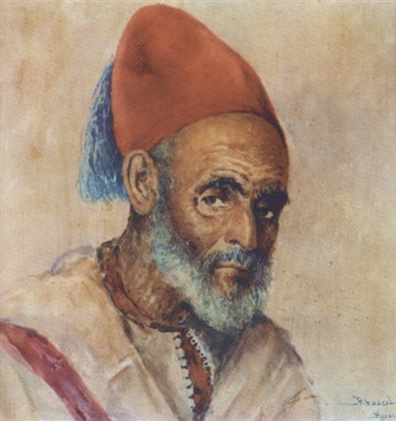 homme au fez mohasni du sultan by felipe barantes abascal
