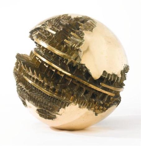 sfera no 1 studio by arnaldo pomodoro