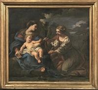 matrimonio mistico di santa martina by pietro da cortona